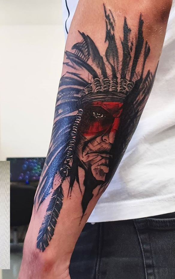 American Native Tattoo