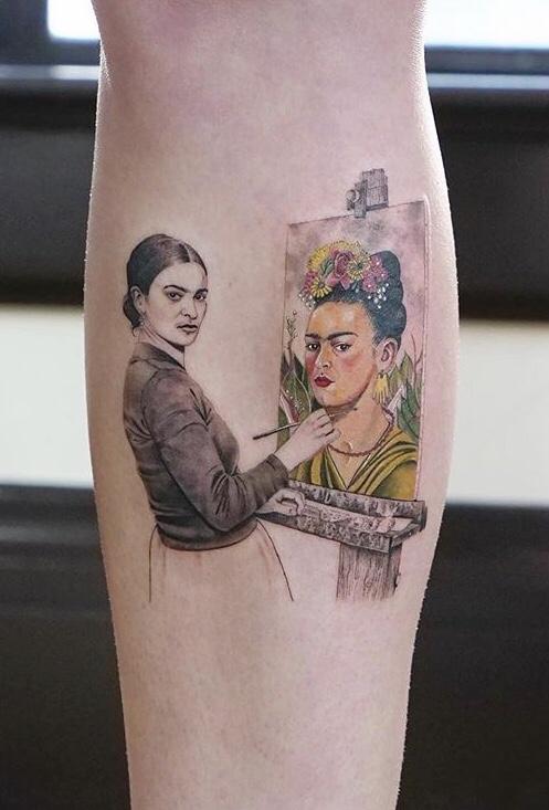 Frida Tattoo