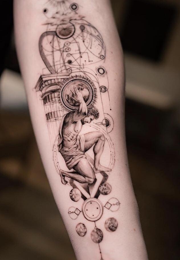 Atlas Tattoo