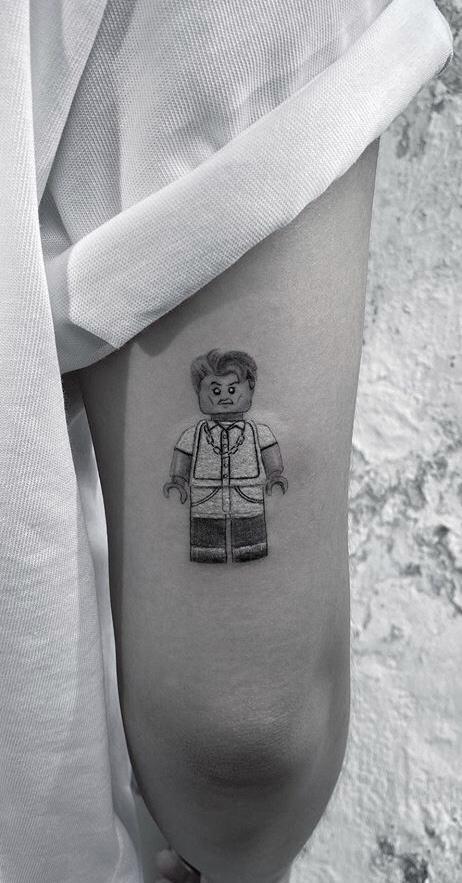 Lego Tattoo