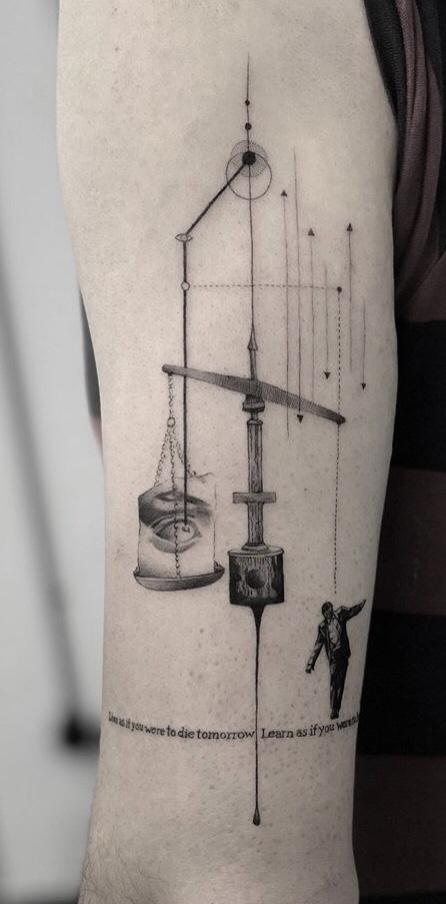 Balance – Imbalance Tattoo