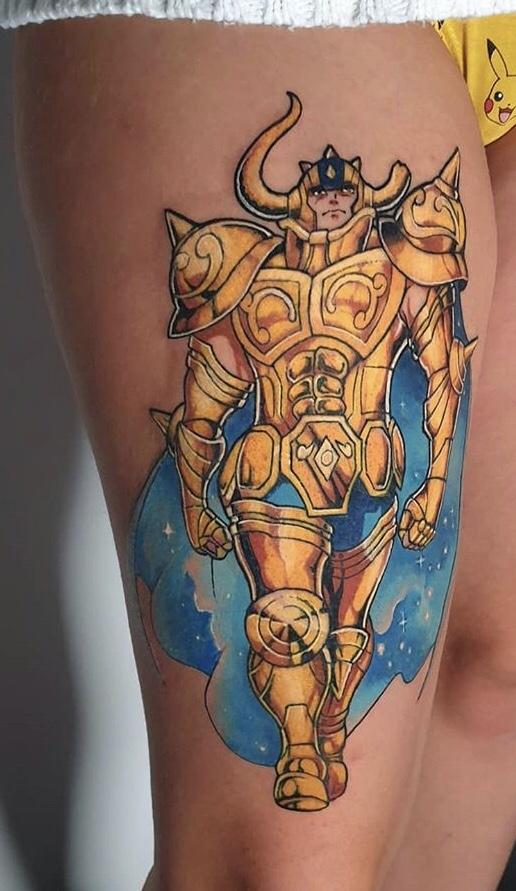 Saint Seiya Tattoo