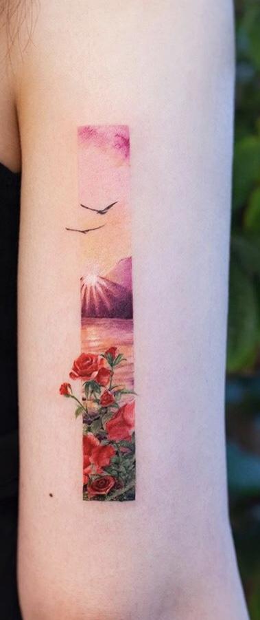 Sea view Tattoo