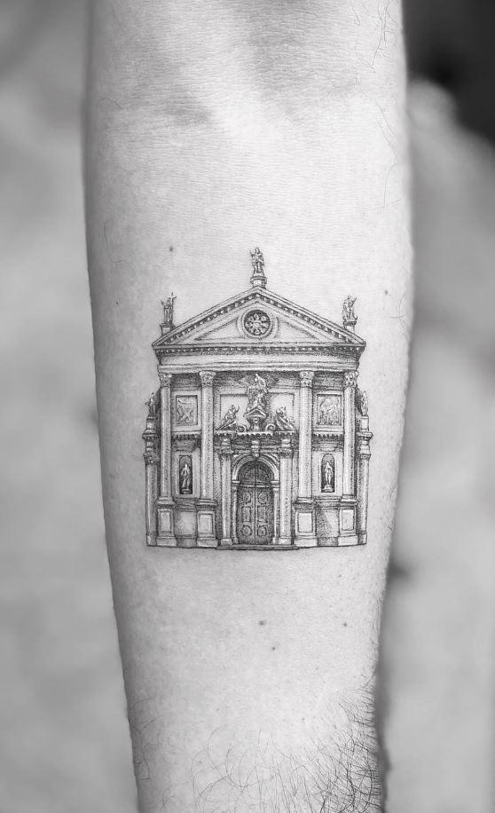 Church Of San Stae Tattoo