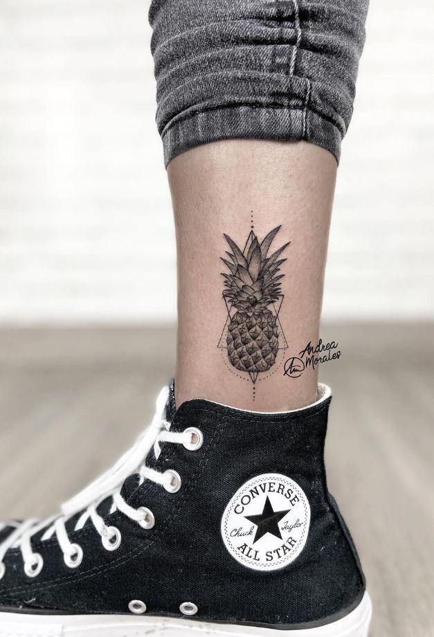 Pineapple Tattoo