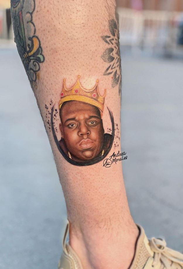 The Notorious B.I.G. Tattoo