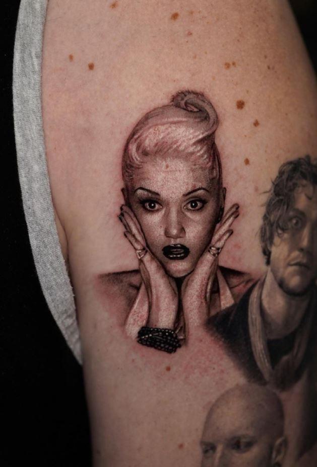Gwen Stefani Tattoo